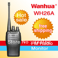 Classic design handheld two way radio 400-470MHz 16channels  Voice report and strong interference ham transceiver free shipping
