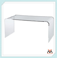 Solid surface table top, solid surface acrylic table