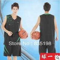 hot selling cheap 100% polyester 4 color men basketball jerseys set fashion 2013 sportwear training jersey