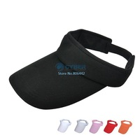 Hot Sell Casual Sun Visor Hat for Sports Tennis & Pub Golf Fancy Dress Cap 6 Colors 17847