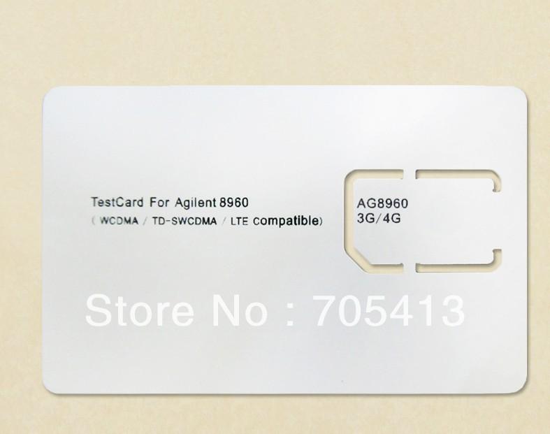 Agilent 8960 test card WCDMA / TD-SWCDMA / LTE Compatible AG8960 3G 4G SIM CARD