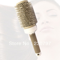 53mm Large  Pro ceramic curling Hair Round Styling Blow-drying Brush for Salon