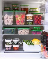 IKEA New 17 Plastic  Food Storage Containers & Green Lids BPA Free, Shipping Free