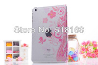 Fashion Raindrop Flower Hard Back Case For Apple iPad mini