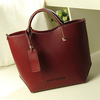 New 2013 Women messenger bag Women's fashion leather handbags designer brand lady shoulder bag high quality Y0190