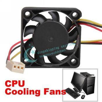 3 Pin 40mm Computer CPU Cooler Cooling Fan PC 4cm 40x40x10mm DC 12V Drop Shipping/Free Shipping Wholesale