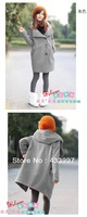 Han edition qiu dong maternity big pregnant women coat lapels hooded windbreaker pregnant women coat/coat