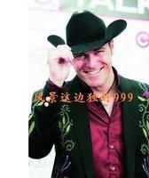 1pcs free shipping 100% wool felt Wool fedoras fashion big cowboy hat cowboy hat male women's  western cowboy felt hat