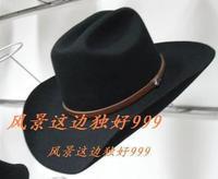 Wool hat cowboy XXL size 62cm-63cm size 100% wool hat western cowboy felt hat  muliti sizes hat