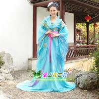 Costume Sky Blue fairy costume tang suit hanfu
