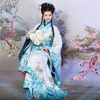 Hanfu clothes costume light pink