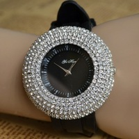 NEW Fashion Blingbling Shining Silicon Band Crystal Quartz Dress Wristwatches Watch Hours for Women Ladies Party Club Jewelry