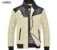 NEW Men Warm Winter Coat Cotton Padded Fur warm winter down coat Hoodie Jacket Parkas 3 Colors M L XL XXL XXXL free ship ALI312