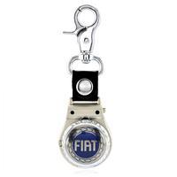 Fiat car unique gift keychain male keyring watch