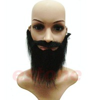 D19+Free Shipping Funny Costume Fancy Party Halloween Fake Beard Moustache Mustache Facial Hair