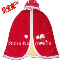 Sallei insufficiencies velvet newborn baby cloak gift box ultra long winter thickening baby cape