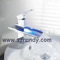 New Water Glow Shower Multicolor LED Light Faucet Sink Tap LD8005-05A