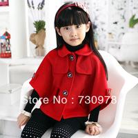 10 children's clothing 5 female child autumn 2013 11 elegant 12 6 cloak 9 child outerwear