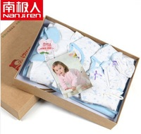 2013 Hot Selling Mother and Baby Products Baby Pure Cotton Suits Gift Box Infant Full Range suppliers Gift Box Free Shipping