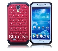 Diamond glitter case cover crystal star stars for Galaxy s4 I9500  cases 30pcs/lot free shipping