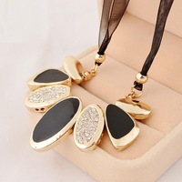 Fashion clothes and accessories exaggerated necklace female short design accessories chain vintage necklace