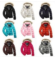 Fashion Women's Winter Duck Down Jacket Short Warm Coat Parka Coat 9 Color S M L
