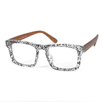 Hot retro glasses frame non-mainstream fashion tide men decorative frames wooden frame