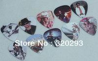 Lots of 50pcs Kid Rock 2-sides Color printing Guitar Picks