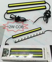 12W COB LED DRL,Decorative Light(17cm length),DAYTIME RUNNING BULB,DRL LED LAMP,CAR RUNNING LED