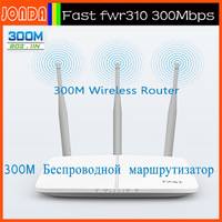 NEW Fast FWR310 11n Wireless Router 300mbps 3 Aerial WiFi 300Mpbs Router .free give PLUG