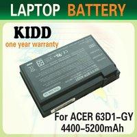 Replacement Batteries BT.00803.007, BT.00805.002, BTP-63D1, BTP-AID1, BT.T2803.001 BTP-96H1 for Acer Aspire 3020