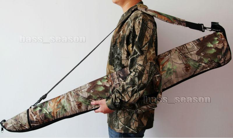 "New 53"" Large Scoped Tactical Rifle Range Shot Gun Bag Case Real Tree Camoflauge(China (Mainland))"