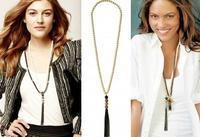 2013 Brand New Beautiful Designer Inspired Vintage REVIVAL TASSEL Lady Statement J.e.w.e.l Crew Necklace jn99