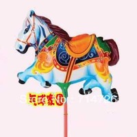 Balloon cartoon balloon big corniculatum rod balloon Horse