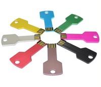 Hotsale l 4GB 8GB 16GB 32GB key USB Flash Disk 100% Full Capacity Free Shipping