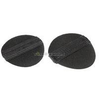 W7Tn 2pcs Noble Volume Hair Base DIY Velcro Volumizing Tool New Black