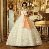 The bride wedding dress plus size wedding dress the wedding maternity wedding dress new arrival 2013