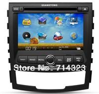 Hot Sales!! Car DVD Player for Ssangyong Korando/ New Actyon GPS Navi,Bluetooth,TV,Ipod,Radio,RDS,Russian language Free shipping