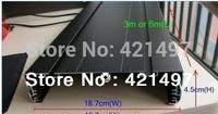 18.7x4.5cm P10 led display aluminium profile