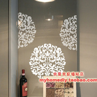 Free Shipping Wholesale and Retail Flowers Stickers Wall Stickers Wall Decals Wall Covering Home Decor F1057