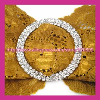 100pcs/lot 52mm Outer  Wedding Belt Buckles  Rhinestone Chair Sash Buckle  for Wedding ,Big Rhinestone Shoe Buckle
