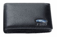 Free shipping Ford sets with LOGO leather wallet license driving license driving permit sets folder