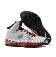 basketball shoes for sale size US 8~12 Free shipping 2013 lebron X 10 mvp p s elite mens shoes