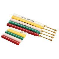 W7Tn Colorful Ear Wax Earpick Cleaner Curette Screw Remover Stick Pick Tool