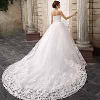 The bride wedding dress 2014 luxury diamond wedding dress ladies elegant princess gowns vestidos de noiva short wedding dress