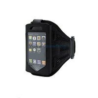 New Sports Armband Strap Black Gym Case Holder For Apple iPhone 4 4G 3G 4S V3NF