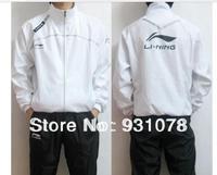 Wholesale Free Shipping, New Li Ning badminton clothing men fall and winter clothes sports f098 windbreaker jacket