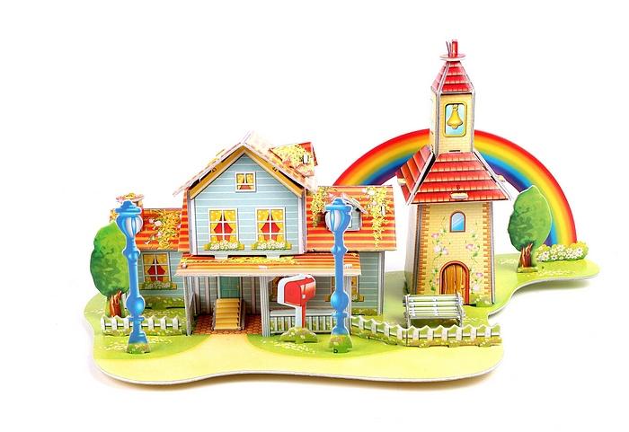Handmade house model