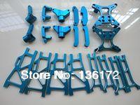 20pcs/set henglong 3851-2 1/10 rc car Mad truck Aluminum Upgrade parts  free shipping