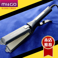 Free shipping tourmaline ceramic widening type corn clamp straight iron powder straight hair and straight hair stick straight